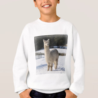 Alpaca In the Snow Sweatshirt