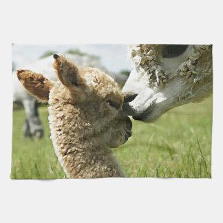 Alpaca Love Hand Towel