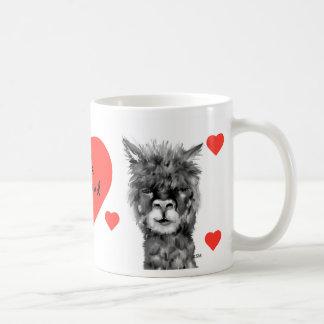 Alpaca love Hello, my friend cup