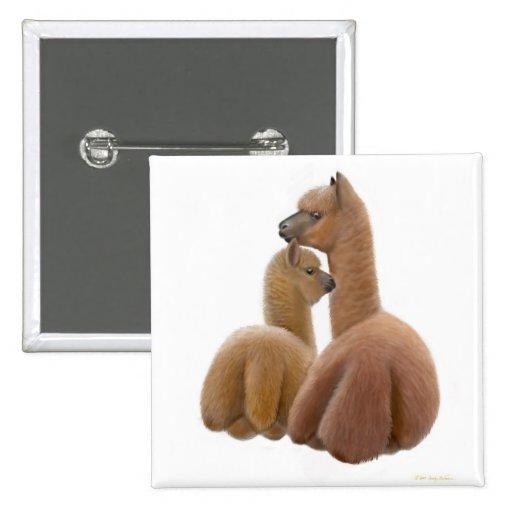 Alpaca Love Pin