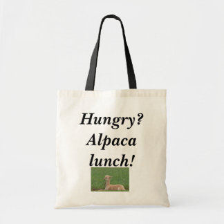 Alpaca Lunch Bag! Tote Bag