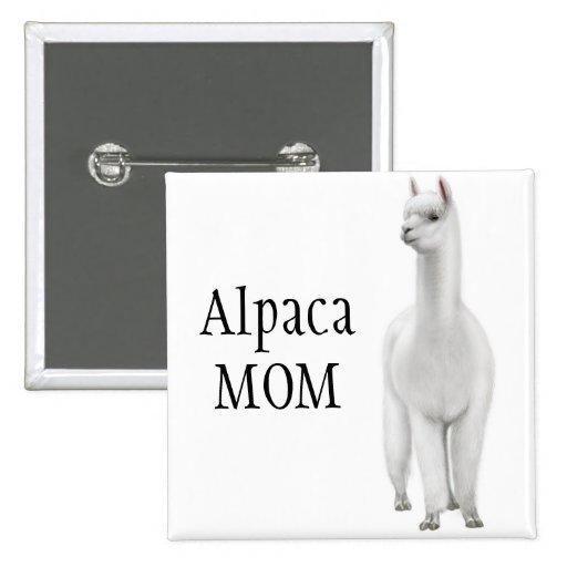 Alpaca Mom Pin