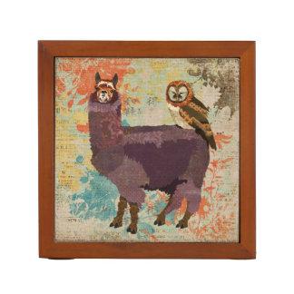 Alpaca & Mums Owl Desk Organizer