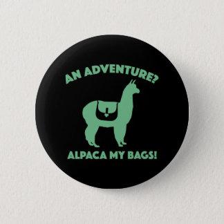 Alpaca My Bags 2 Inch Round Button
