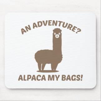Alpaca My Bags Mouse Pad