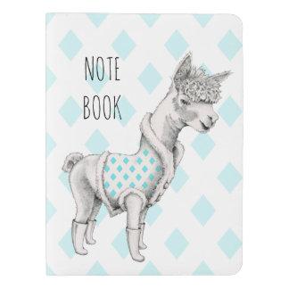 Alpaca Notebook Cover