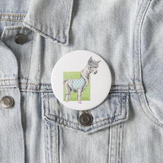 Alpaca on Green Button