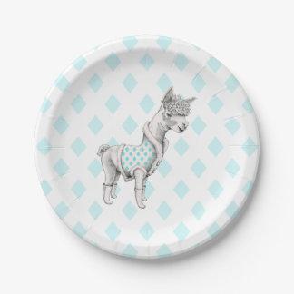 Alpaca Paper Plates