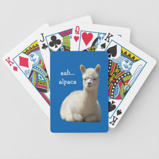 Alpaca Playing Cards