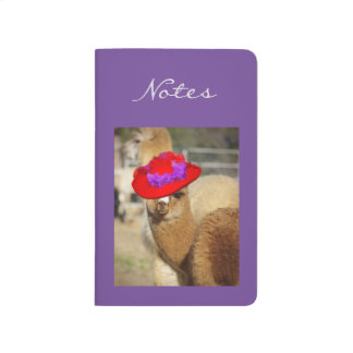 Alpaca Pocket Journal