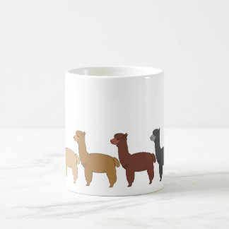 Alpaca Rainbow Coffee Mug