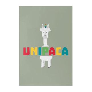 Alpaca Rainbow Unicorn Z0ghq Acrylic Print