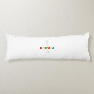 Alpaca Rainbow Unicorn Z0ghq Body Pillow