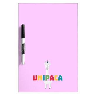 Alpaca Rainbow Unicorn Z0ghq Dry Erase Board
