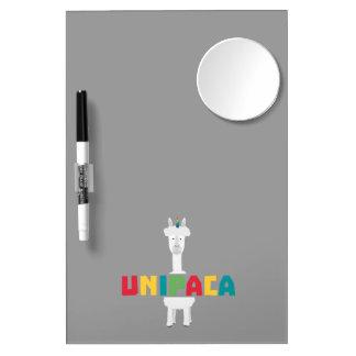 Alpaca Rainbow Unicorn Z0ghq Dry Erase Whiteboards