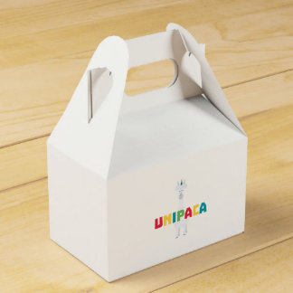 Alpaca Rainbow Unicorn Z0ghq Favor Box