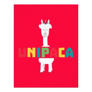 Alpaca Rainbow Unicorn Z0ghq Flyer