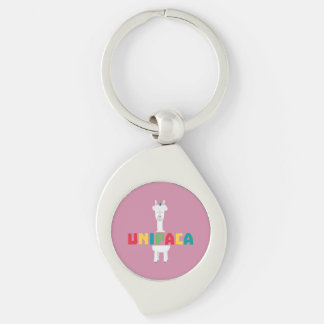Alpaca Rainbow Unicorn Z0ghq Keychain