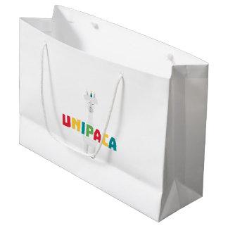 Alpaca Rainbow Unicorn Z0ghq Large Gift Bag