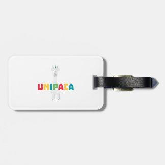 Alpaca Rainbow Unicorn Z0ghq Luggage Tag
