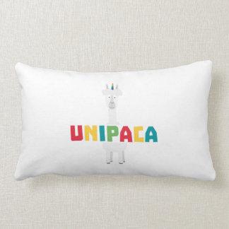 Alpaca Rainbow Unicorn Z0ghq Lumbar Pillow