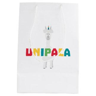 Alpaca Rainbow Unicorn Z0ghq Medium Gift Bag