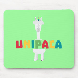 Alpaca Rainbow Unicorn Z0ghq Mouse Pad
