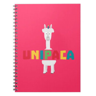 Alpaca Rainbow Unicorn Z0ghq Notebooks