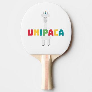Alpaca Rainbow Unicorn Z0ghq Ping Pong Paddle