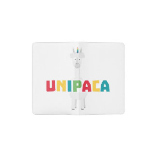 Alpaca Rainbow Unicorn Z0ghq Pocket Moleskine Notebook