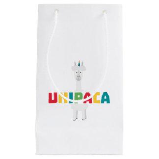 Alpaca Rainbow Unicorn Z0ghq Small Gift Bag