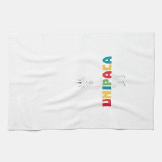 Alpaca Rainbow Unicorn Z0ghq Towels