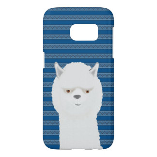 Alpaca Samsung Galaxy S7, Barely There Phone Case