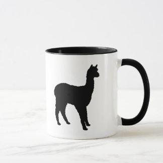 Alpaca Silhouette Mug