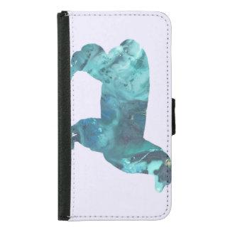 Alpaca silhouette samsung galaxy s5 wallet case