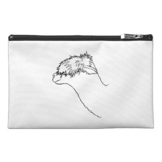 Alpaca Sketch. Travel Accessory Bag