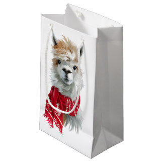 Alpaca Small Gift Bag