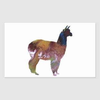 Alpaca Sticker