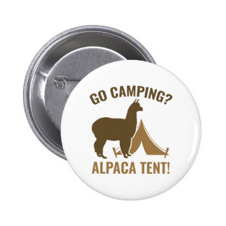 Alpaca Tent 2 Inch Round Button