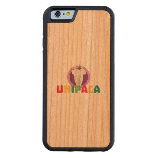 Alpaca Unicorn Unipaca Z4srx Carved Cherry iPhone 6 Bumper Case
