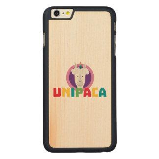 Alpaca Unicorn Unipaca Z4srx Carved Maple iPhone 6 Plus Case