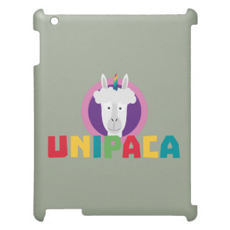 Alpaca Unicorn Unipaca Z4srx iPad Case