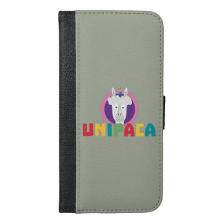Alpaca Unicorn Unipaca Z4srx iPhone 6/6s Plus Wallet Case