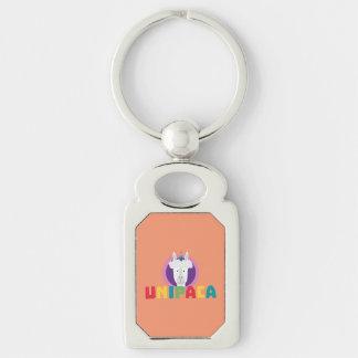 Alpaca Unicorn Unipaca Z4srx Keychain