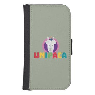 Alpaca Unicorn Unipaca Z4srx Samsung S4 Wallet Case