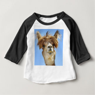 Alpaca with Crazy Hair Baby T-Shirt