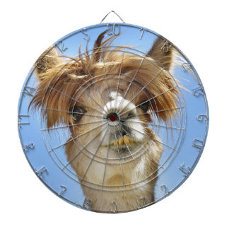Alpaca with Crazy Hair Dartboard