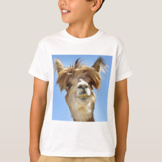 Alpaca with Crazy Hair T-Shirt
