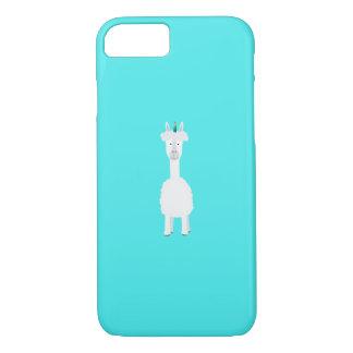 Alpaca with Unicorn Rainbow Horn Q1Q iPhone 8/7 Case