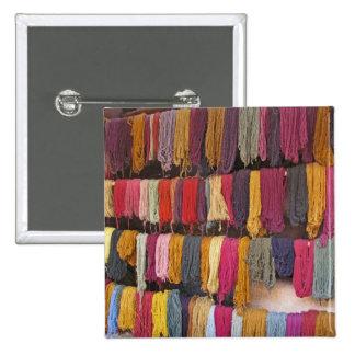 Alpaca Yarn Pinback Button